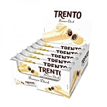 CHOCOLATE TRENTO CHOCOLATE BRANCO 16x2un 32G 512g