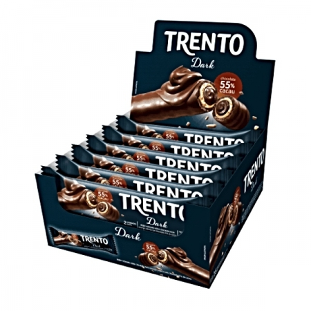 CHOCOLATE TRENTO DARK 16x2un  32G  512gr
