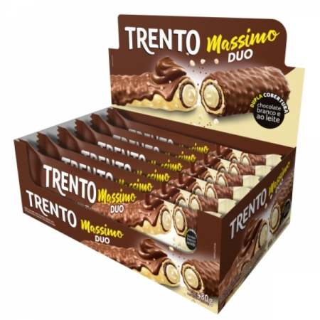 CHOCOLATE TRENTO MASSIMO DUO 16 UNIDADES 30 GR
