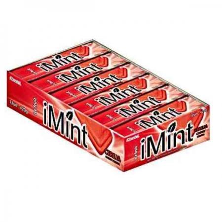 DROPS I MINT MORANGO CHOCOlATE 10 UNIDADES 300GR FLORESTAL
