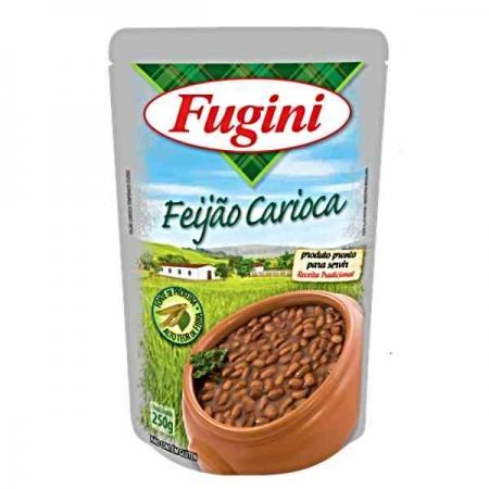 FEIJAO CARIOCA FUGINI SACHE 250 GR