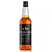 KIT WHISKY ROYAL LABEL 1LT  2 GARRAFAS