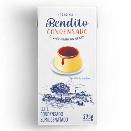 LEITE CONDENSADO BENDITO 27 UNIDADES 395G