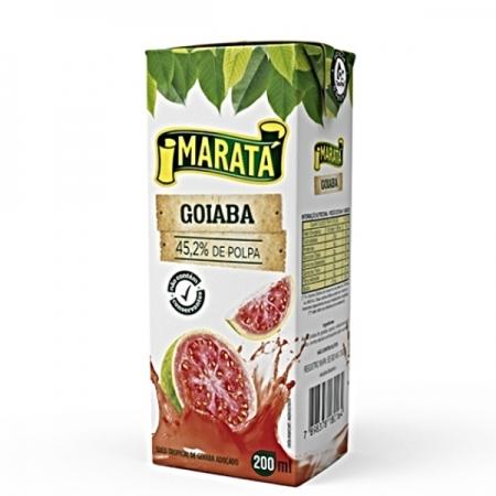 NECTAR GOIABA MARATA 27 UNIDADES 200ML