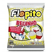 PIRULITO FLOPITO BEIJINHO 600GR PACOTE 50 unidades