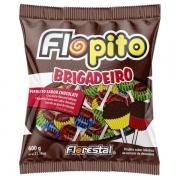 PIRULITO FLOPITO BRIGADEIRO 600GR 50 UNIDADES