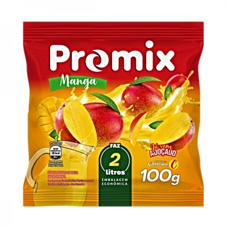 REFRESCO MANGA PO PROMIX 24 UNIDADES 100 G