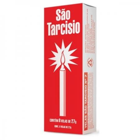 VELA SAO TARCISIO N°8 24 PACOTE COM 8 UNIDADES 36 GR ZUPP