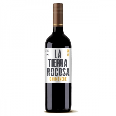VINHO LA TIERRA ROCOSA CARMENERE TTO 750ML CHILE