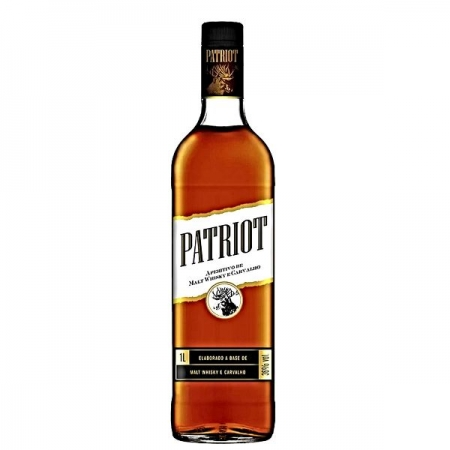 WHISKY CARVAL 1LT C/ COPO PATRIOT