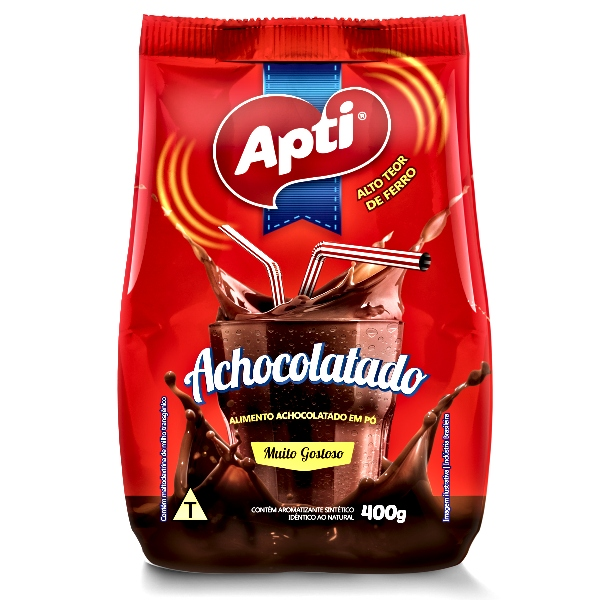 Achocolatado APTI 400 g 12 unidades