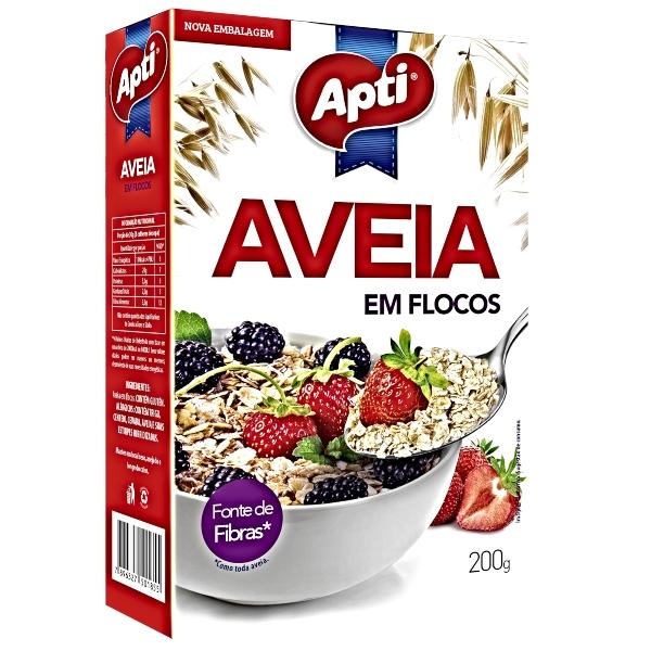 AVEIA FLOCOS 200GR APTI
