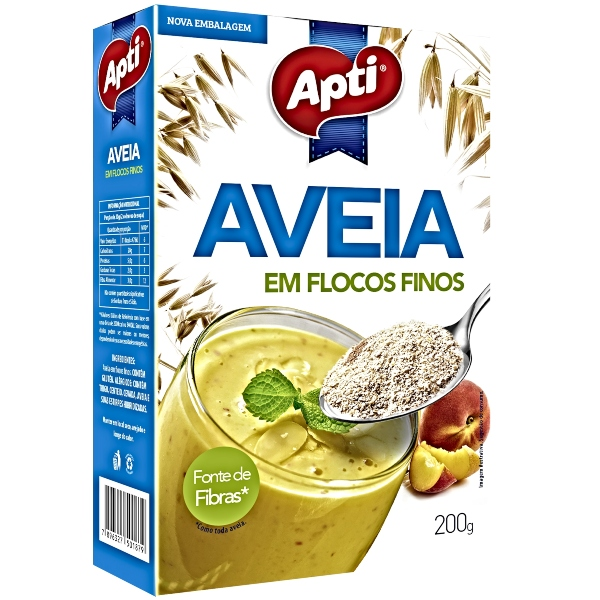 AVEIA FLOCOS FINOS 200GR APTI