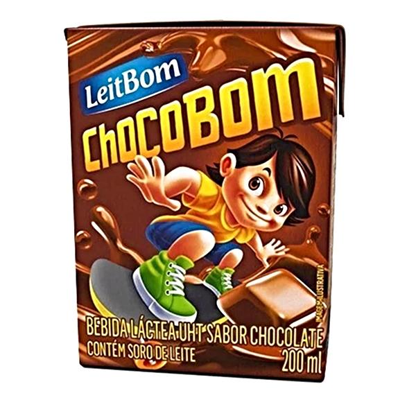BEB CHOCOBOM CHOC 27 UNIDADES 200 ML LEITE BOM