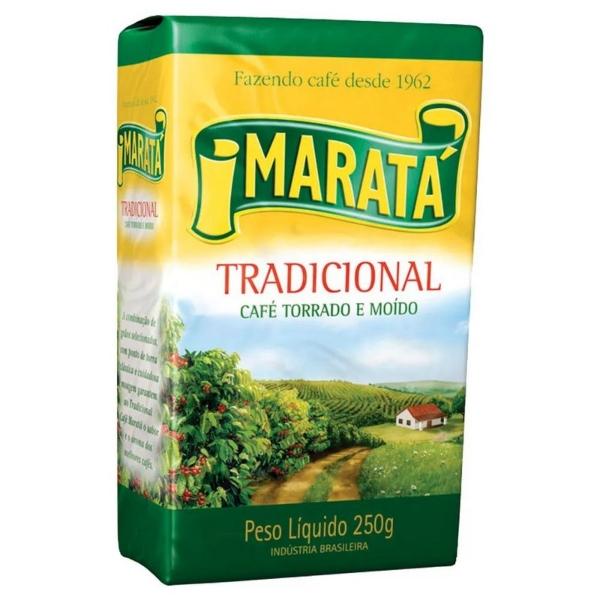 CAFE MARATA VACUO 250GR 20 UNIDADES