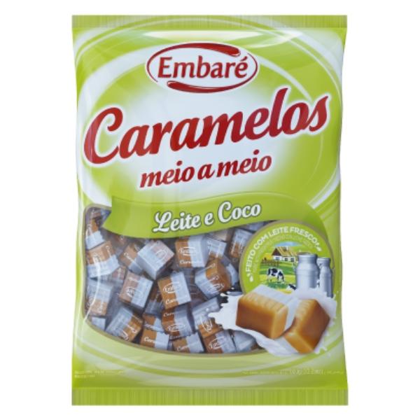 CARAMELO MEIO LEITE/COCO 660GR