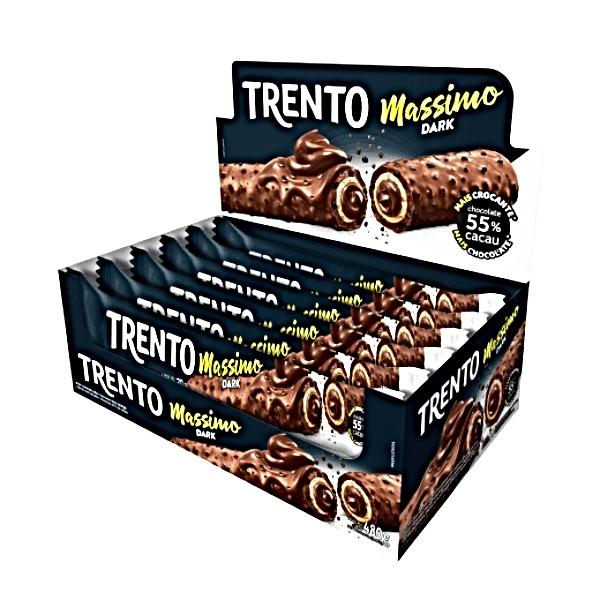 CHOCOLATE TRENTO MASSIMO DARK 16 UNIDADES 480GR