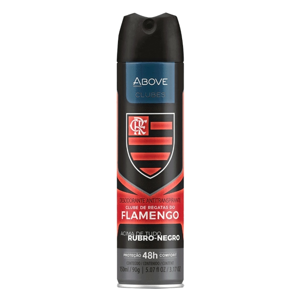 DESODORANTE ABOVE FLAMENGO 150ML 90GR
