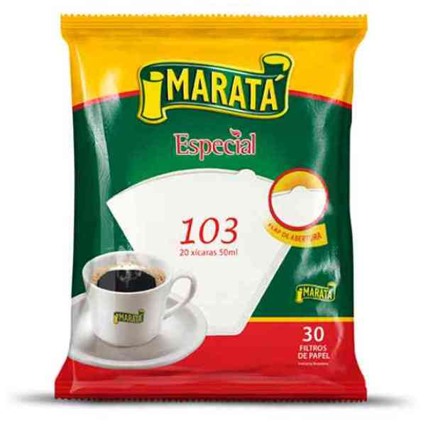 FILTRO PAPEL CAFE 103 COM 30 UNID