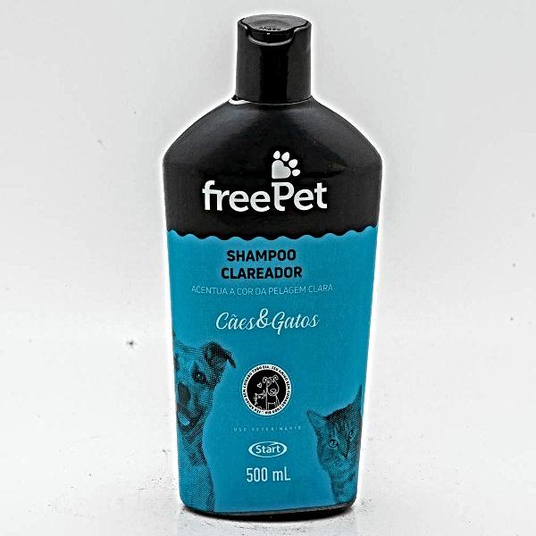 FREE PET SHAMPOO CLAREADOR 500ML