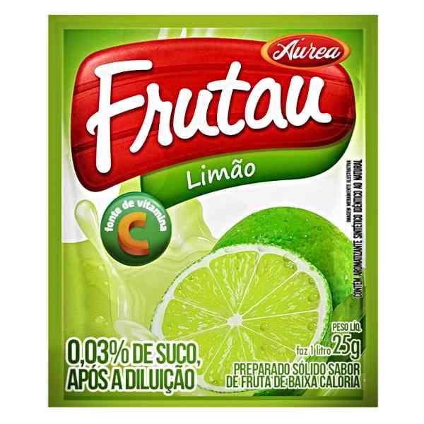 FRUTAU LIMAO 15 UNIDADES 25 GR SUCO