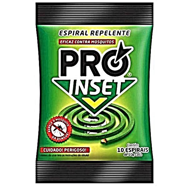 INSET PRO ESPIRAL REPELENTE10X10GR