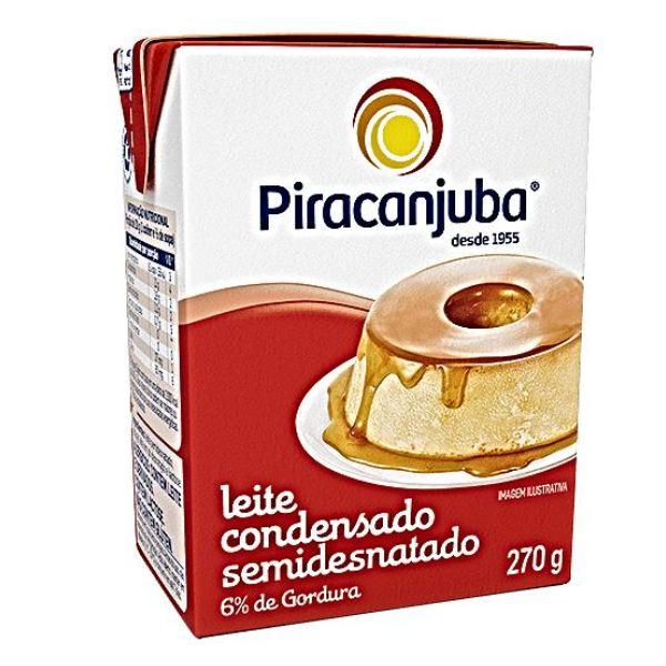 LEITE CONDENSADO 27 UNIDADES 270 G PIRACANJUBA