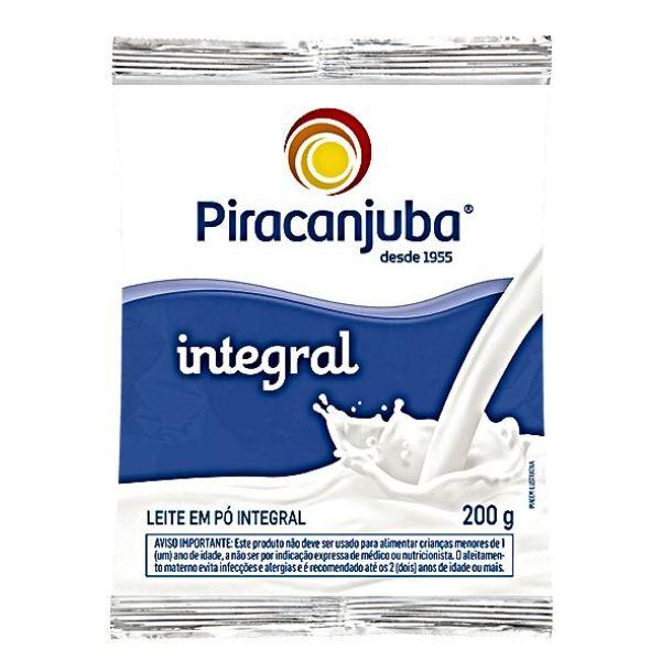LEITE PÓ INTEGRAL  200 GR PIRACANJUBA