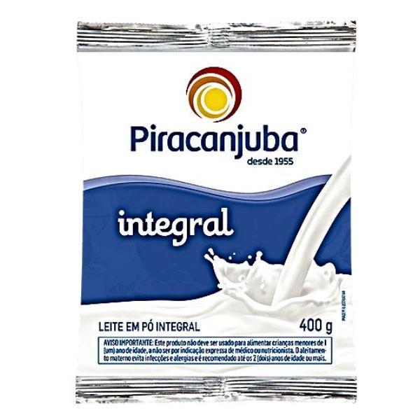 LEITE PÓ INTEGRAL 400 GR PIRACANJUBA