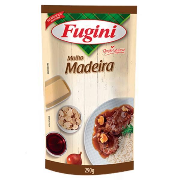 MOLHO PRONTO MADEIRA SACHE 300GR FUGINI