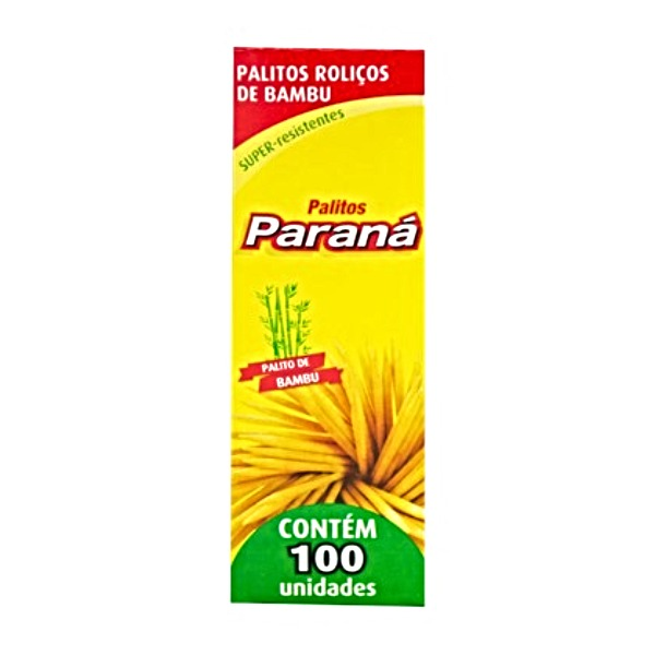 PALITO DENTE BAMBU 25CX DE 100UN PARANA