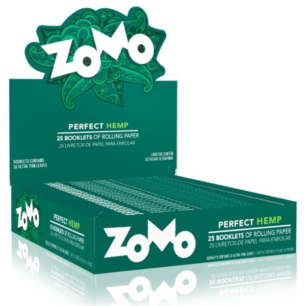 PAPEL ZOMO PERFECT HEMP 25 LIVRO 33 FOLHAS