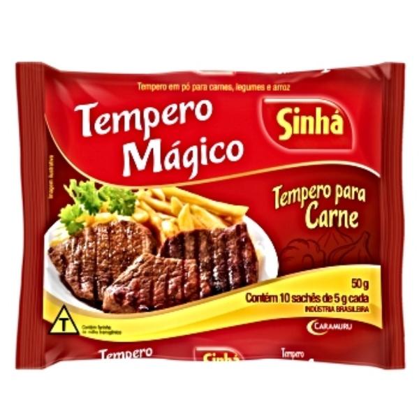 TEMPERO CARNE 50GR SINHA