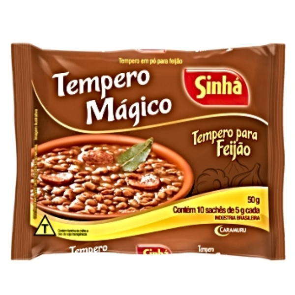 TEMPERO FEIJAO SINHA 50 GR