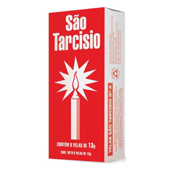 VELA SAO TARCISIO N°4 24 PACOTES COM 8 UNIDADES 13 GR ZUPP