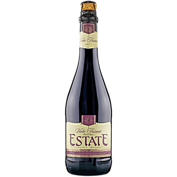 Vinho Frisante Estate Tinto 660 Ml
