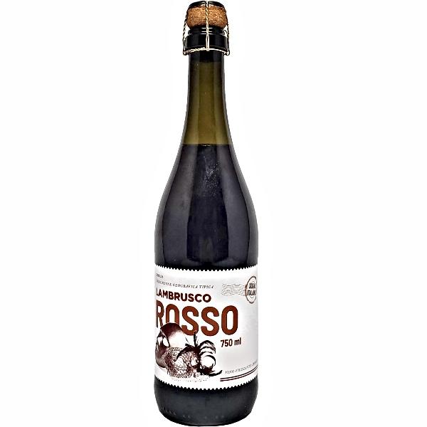 VINHO FRISANTE SOGNO ITALIANO LAMBRUSCO ROSSO TTO 750ML
