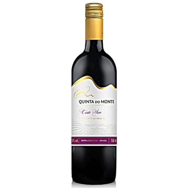 Vinho Quinta Do Monte Moscato Tinto Seco 750ml