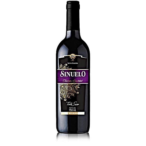 VINHO SINUELO TINTO SECO 750 ML TRADICIONAL