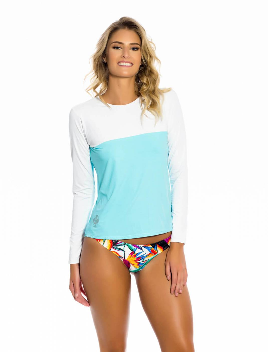 Camisa Feminina UV Azul BB