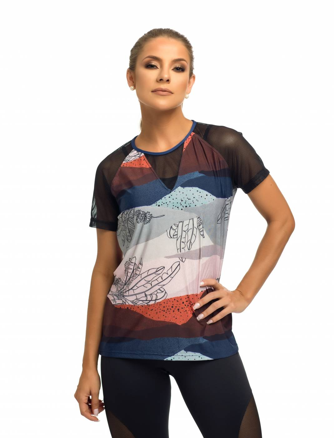 Camisa Fitness - Minas