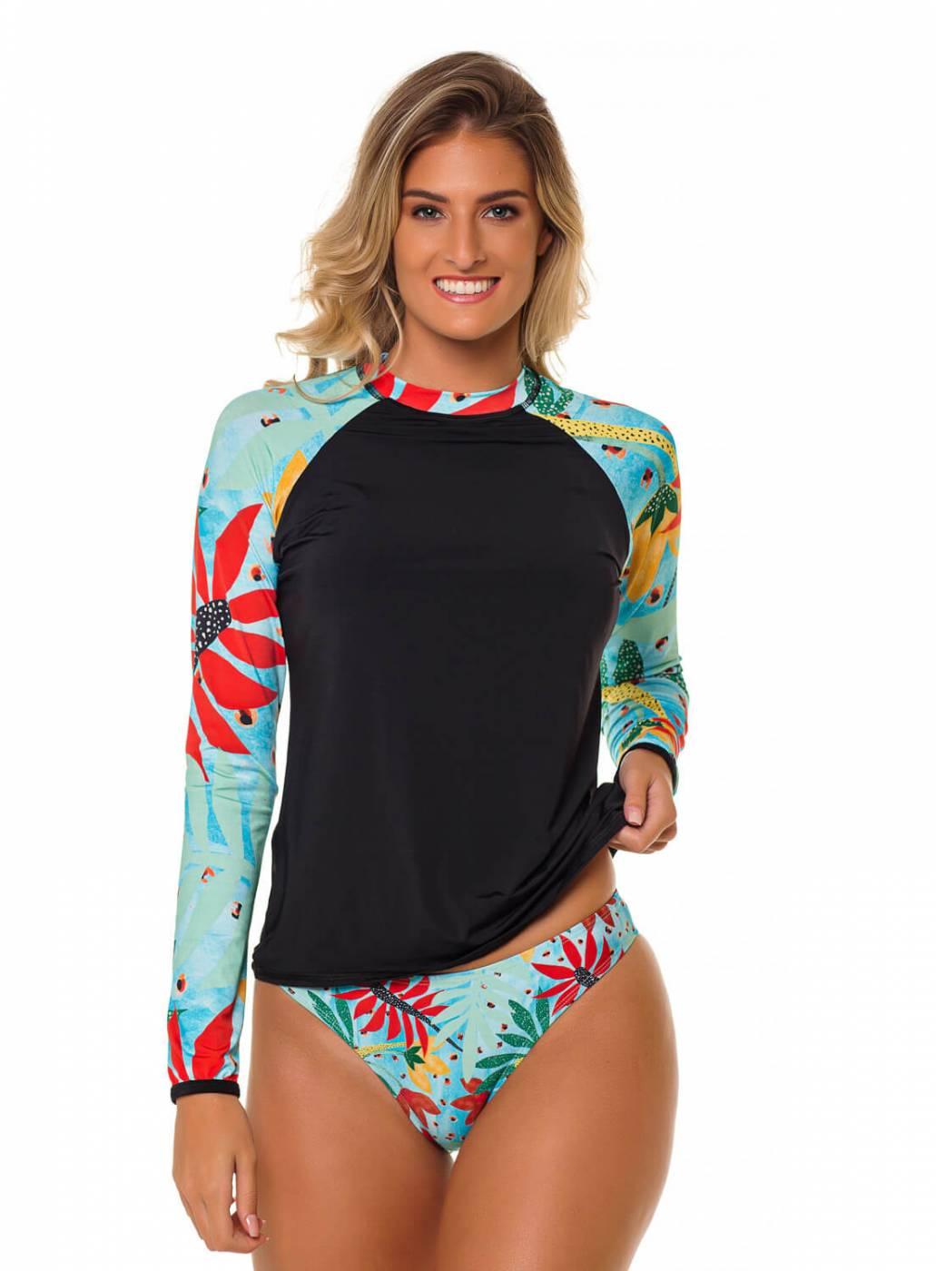 Conjunto Camisa e Calcinha UV50+ PRO - Aruba
