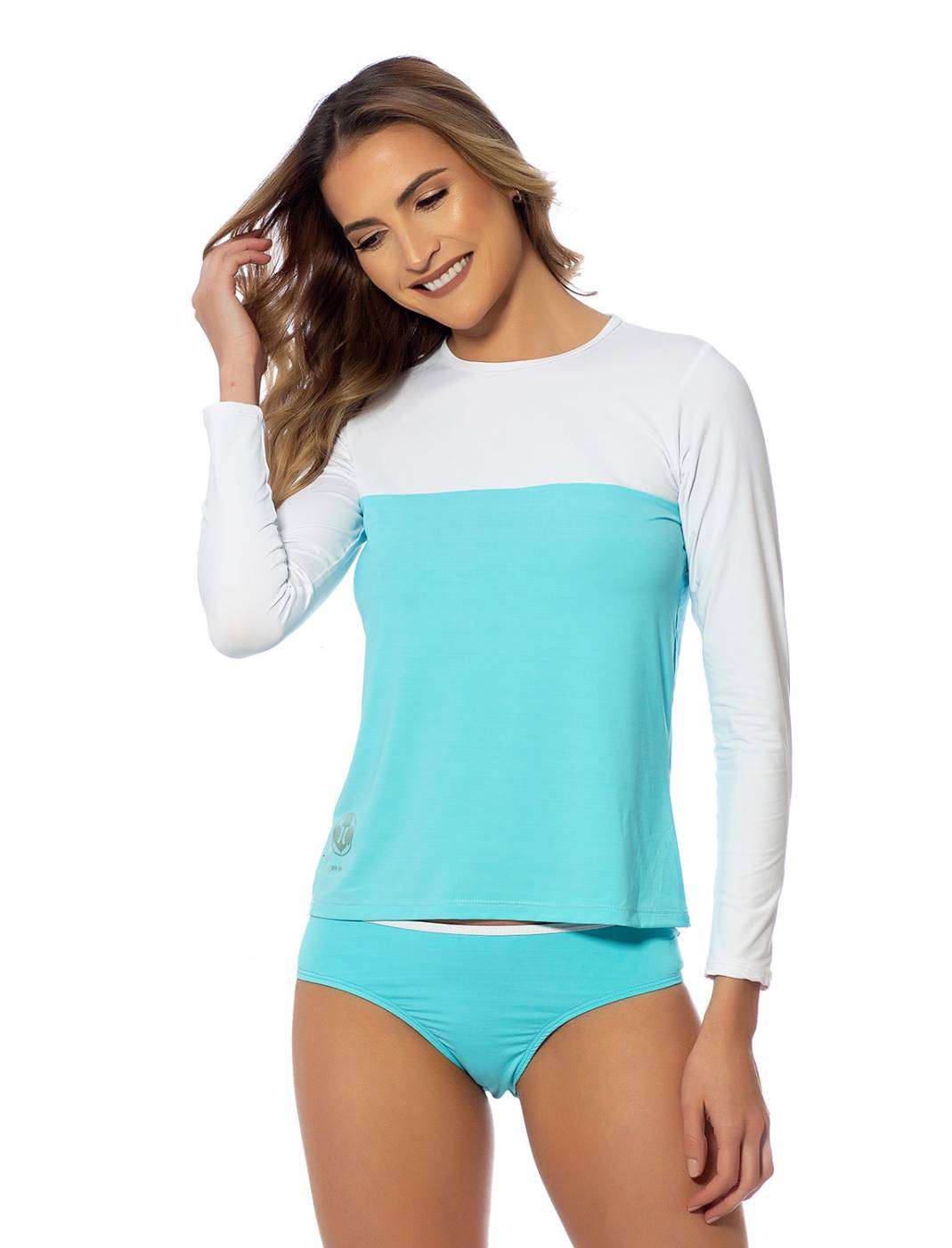 Conjunto Camisa e Calcinha UV Blue