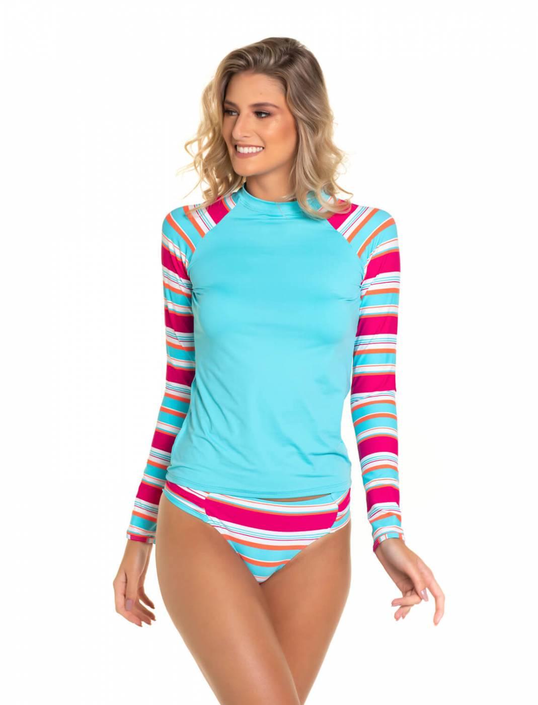 Conjunto Camisa e Calcinha UV - Maldives