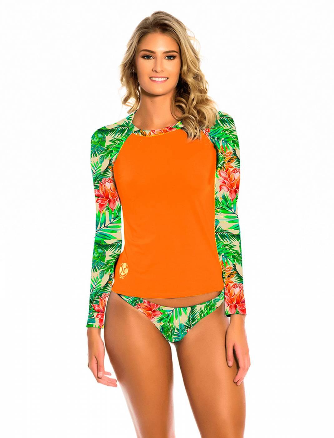 Conjunto Camisa e Calcinha UV Pitaia