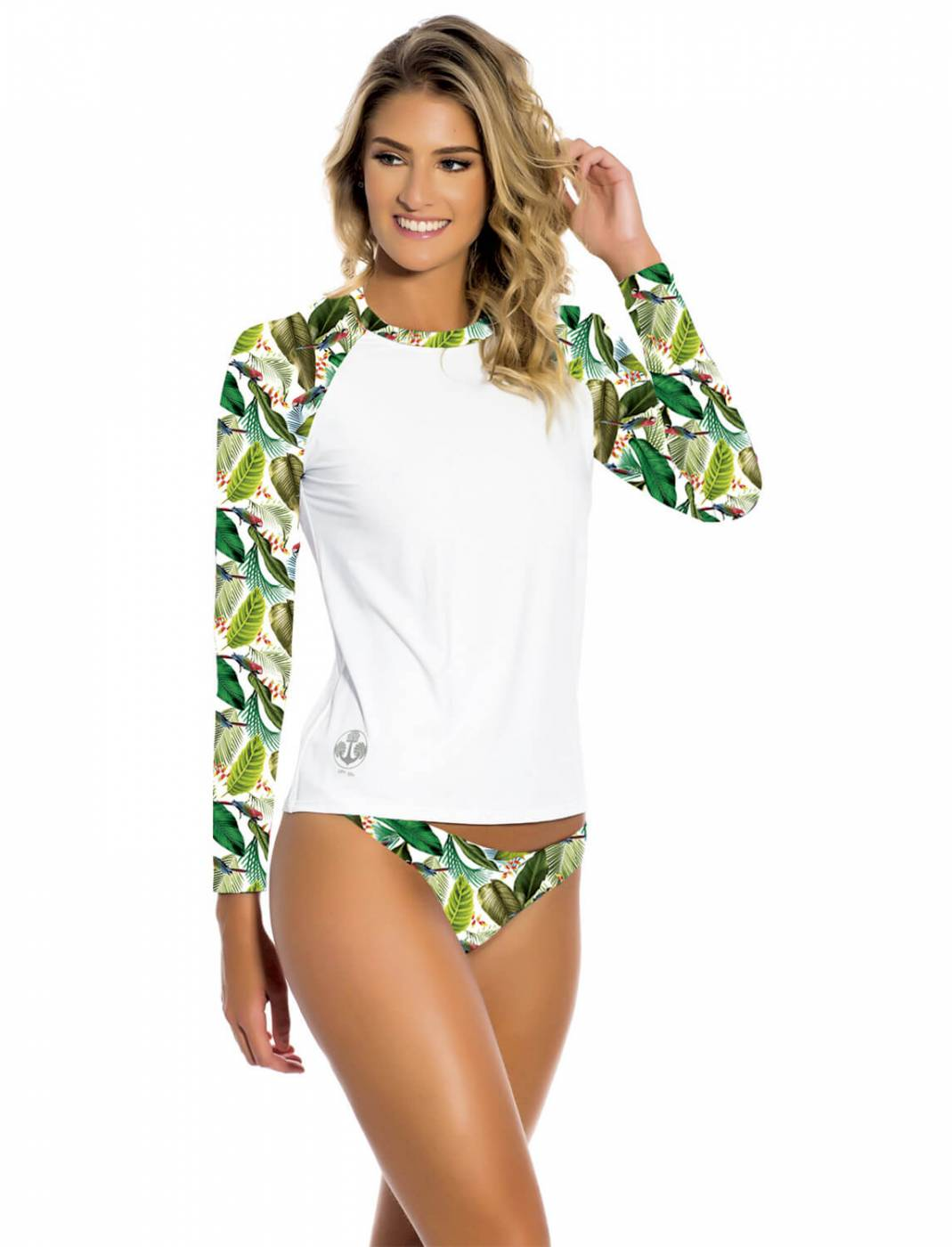 Conjunto Camisa e Calcinha UV Tropicália