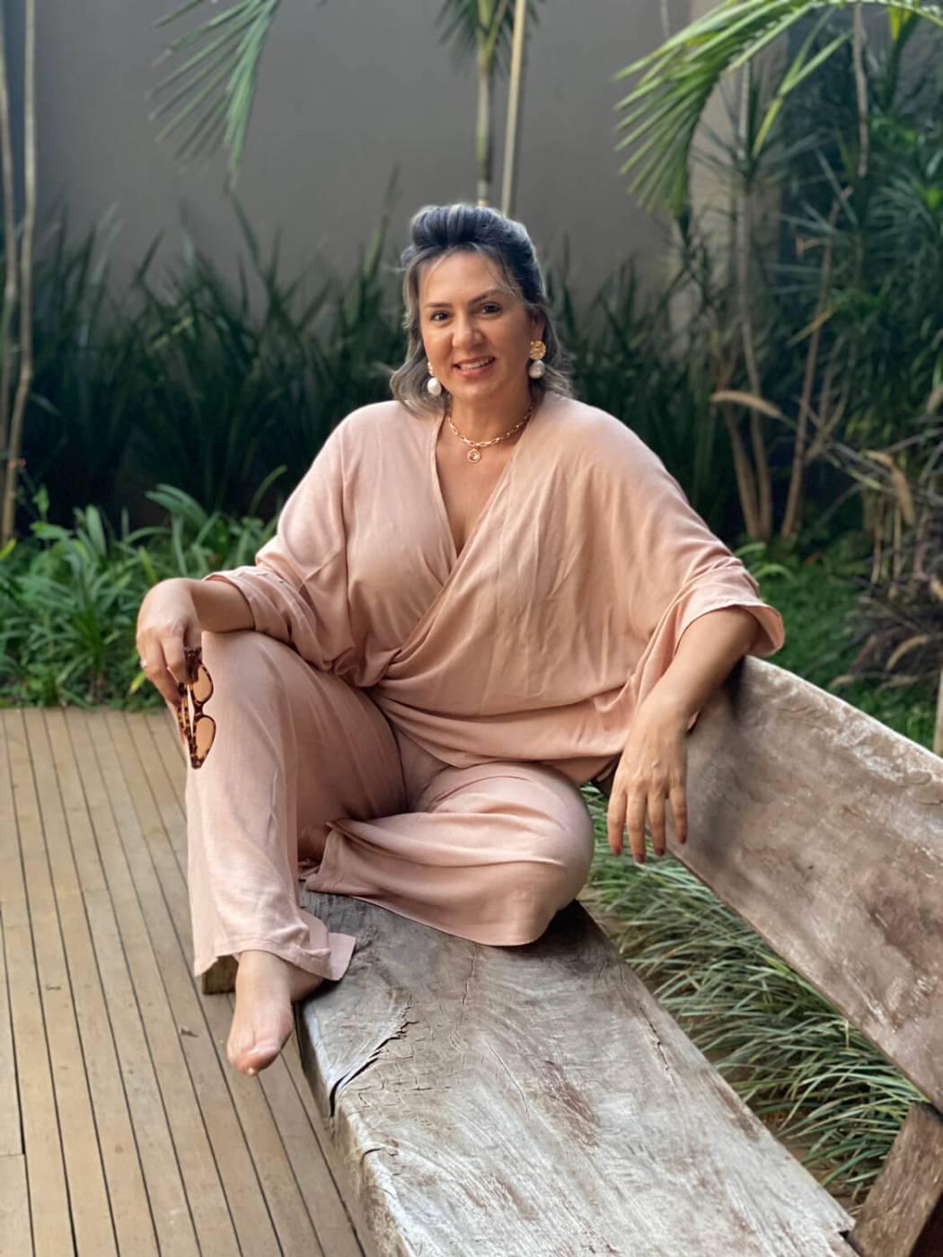 Kimono Amarração Nude