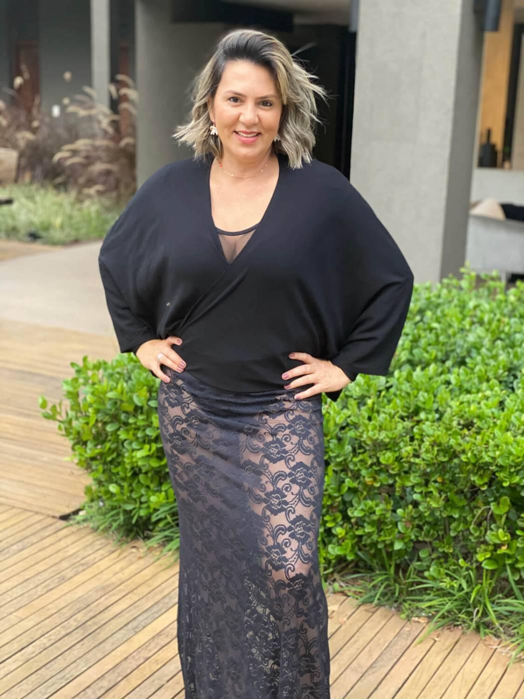 Kimono Amarração Preto