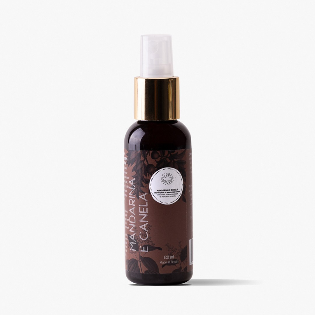 AROMATIZADOR SPRAY MANDARINA & CANELA 120ML