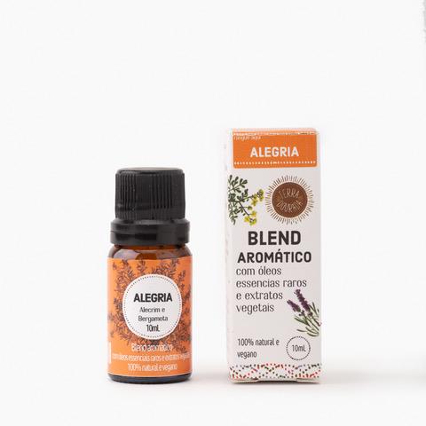 BLEND AROMÁTICO ALEGRIA 10 ml TERRA DOURADA  - Terra Dourada